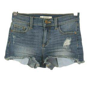 Sp Black Label Ripped Cut Off Denim Shorts Girls S